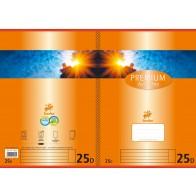 Schulheft  A4 32Bl 90g Lin25 Premium liniert mR