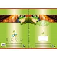 Schulheft  A4 32Bl 90g Lin3 Premium liniert