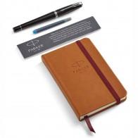 PARKER Füllhalter Urban Premium Ebony Metal Geschenkset mit Notizbuch
