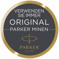 PARKER 5th Ersatzmine F schwarz