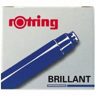 ROTRING Tintenpatrone Brillant königsblau 6 Stück R598205