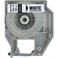 DYMO Schriftband / Etikettenband D2 61211 12mm x 10m weiß für 6000 9000 PC10
