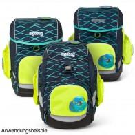 ERGOBAG Seitentaschen Zip-Set gelb PACK CUBO CUBO light für Modelle ab 10/2019