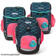 ERGOBAG Seitentaschen Zip-Set pink PACK CUBO CUBO light für Modelle ab 10/2019