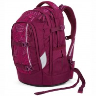 SATCH Schulrucksack pack Purple Leaves