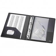 VELOFLEX Ringbuch 4141880 A4 4-Ring 40mm Nylongewebe