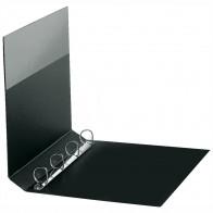 VELOFLEX Ringbuch A4 4-Ring 25mm PVC schwarz