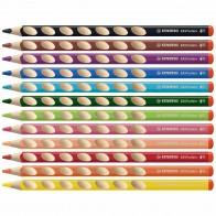 STABILO Farbstift EASYcolors 332/12 Rechtshänder 12 Farben