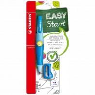 STABILO Druckbleistift EASYergo L 3,15mm hellblau / dunkelblau + Spitzer