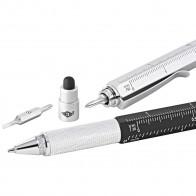WEDO Touchpen Multi-Tool schwarz oder silber sortiert mit cm Aufdruck