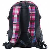 CEEVEE Schulrucksack Backpack OXFORD VOGUE Caro pink