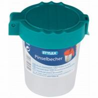 STYLEX Pinselbecher Wasserbox farbig sortiert