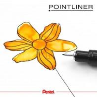 PENTEL Pigmentliner S20P 0,05mm schwarz