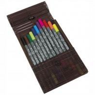 ONLINE Kalligraphie- / Pinsel Stift Calli.Brush 10+1 Farben