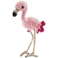 FOLIA Mini-Häkelset -Flamingo-