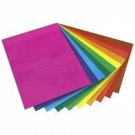 FOLIA Fensterfolie 23x33cm farbig transparent 10 Farben