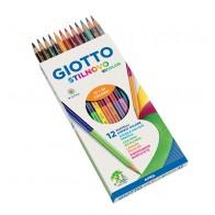GIOTTO Farbstift Stilnovo Bicolor 24 Farben / 12 Farbstifte