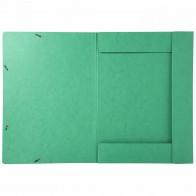 EXACOMPTA Sammelmappe A3 mit Gummizug grün extra stark 600g