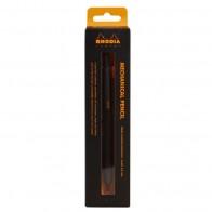 RHODIA Minenbleistift skRipt 0,5mm Aluminium schwarz
