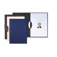Bewerbungsmappe Shape Premium 2tlg. aubergine