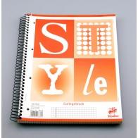 Collegeblock A4 160Bl 60g Lin22 Style kariert mIR hfrei