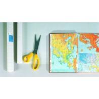 HERMA Buchfolie 7010 10m x 40cm selbstklebend transparent