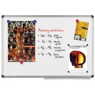 LEGAMASTER Whiteboard UNIVERSAL 7-102264 100 x 200 cm lackiert