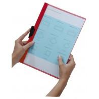 DURABLE Klemmappe DURACLIP A4 2200 bis 30 Blatt rot