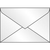Umschlag C6 100g transparent 25St