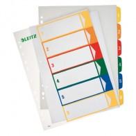 LEITZ Register A4 1292 PP bedruckbar 1-6