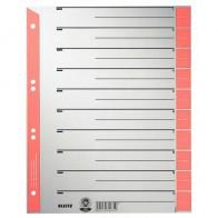 LEITZ Trennblätter 1652 A4 230g Tab rot
