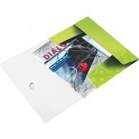 LEITZ Eckspannermappe WOW 4599 PP A4 metallic grün