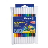 PELIKAN Faserschreiber Colorella Duo 10 Farben