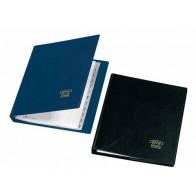 VELOFLEX Telefon Ringbuch A5 blau mit Register und Einlagen