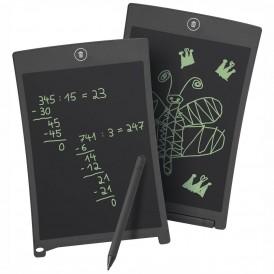 WEDO LCD Schreibtafel mit Stift schwarz 8,5 Zoll incl. Batterien