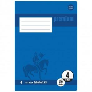 STAUFEN Premium Heft A5 16 Blatt LIN 4