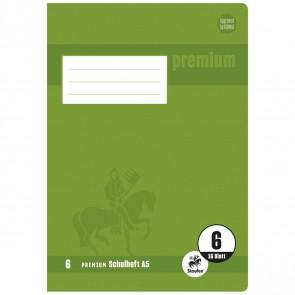 STAUFEN Premium Heft A5 16 Blatt LIN 6