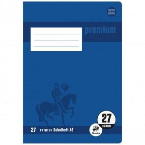 STAUFEN Premium Heft A5 16 Blatt LIN 27