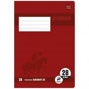 STAUFEN Premium Heft A5 16 Blatt LIN 28