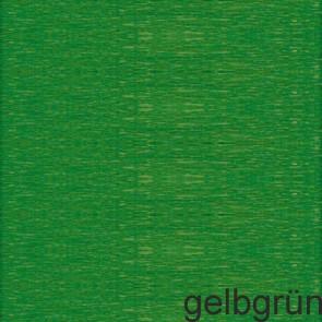 WEROLA Krepp-Papier 50x250cm gelbgrün