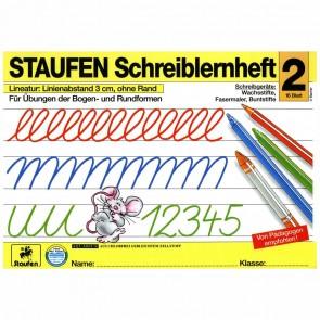 STAUFEN Schreiblernheft Nr. 2 DIN A4 16 Blatt