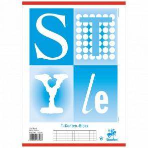STAUFEN T-Kontenblock A4 10 Konten / 25 Blatt