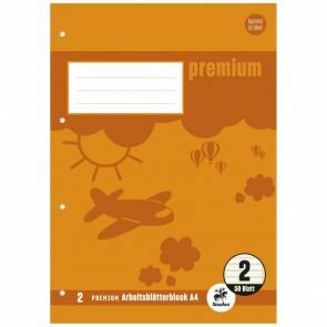 STAUFEN Arbeitsblock Premium A4 50 Blatt LIN 2