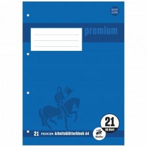 STAUFEN Arbeitsblock Premium A4 50 Blatt liniert