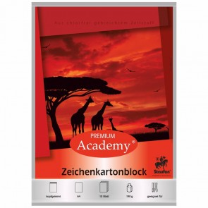STAUFEN Zeichenblock A4 10 Blatt 190g
