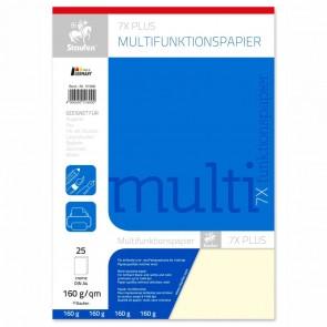 STAUFEN Multifunktionspapier A4 160g 25 Blatt creme
