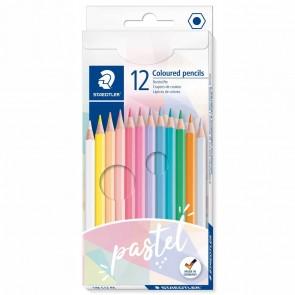 STAEDTLER Farbstifte Pastell 12 Farben