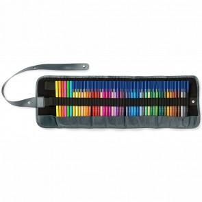 STAEDTLER Fasermaler triplus 323RU48 Roll-UP Case 48 Farben