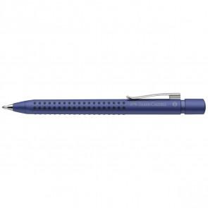FABER CASTELL Kugelschreiber GRIP 2011 XB blau metallic