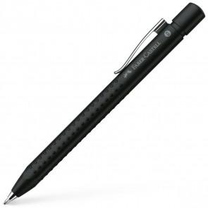 FABER CASTELL Kugelschreiber GRIP 2011 XB schwarz matt
